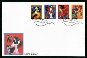 # 3939 - 3942 Let's Dance First Day Cover Miami, FL September 17, 2005