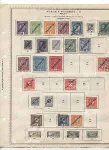 STAMP STATION PERTH - Austria #43 Mint/Used Stamps on Paper- Unchecked