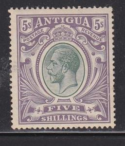 Antigua  Scott # 14 VF lightly hinged with  nice color cv $ 95 ! see pic !