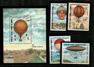Comoro Scott C122-6 Mint NH (Catalog Value $16.15)