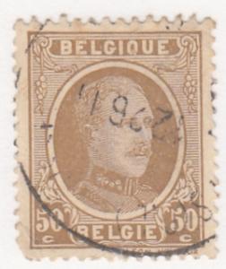 Belgium, Sc # 157 (2), Used, 1925