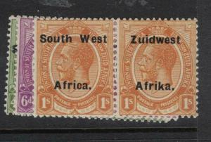 South West Africa SG 33-5 MOG (2dwd)