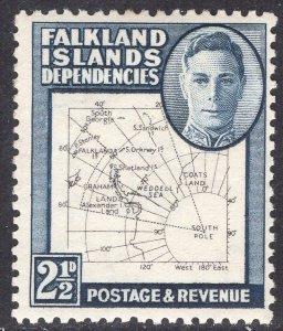 FALKLAND ISLANDS SCOTT 1L13
