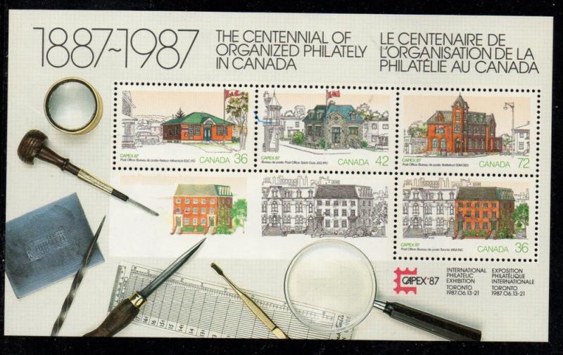 Canada Sc 1125a 1987 CAPEX stamp sheet mint NH