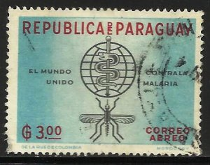 Paraguay 1962 Scott# 679 Used (corner)