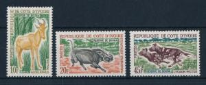 [64040] Ivory Coast 1963 Wild Life - Warthog, Hyena From Set MLH