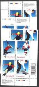 Canada - 2002 Olympic Winter Games Blocks mint #1939a