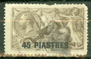 Great Britain Turkey 62 used perf faults CV $52.50