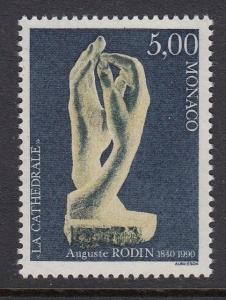 Monaco 1740 Sculpture mnh