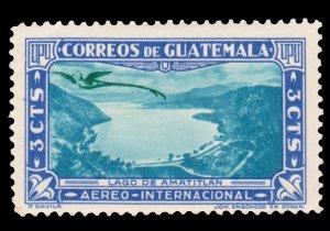 GUATEMALA AIRMAIL STAMP 1939 SCOTT # C113. UNUSED.