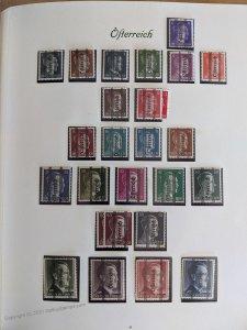 Austria Postwar Collection Graz Renner Sheets Birds Kids MNH + Many Used G105674
