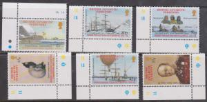 British Antarctic Territory - #301-306 Mint - 2001 Expedition