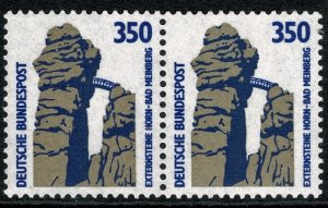 GERMANY 1987-96 350 pf TOURIST SIGHTS PAIRS STAMP(S)SG22219 MINT (NH) SUPERB
