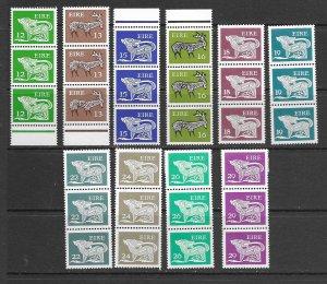 Ireland 466-75 MNH cpl set x 3, vf see desc. 2020 CV$34.35