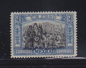 Mexico 493 MH Overprint