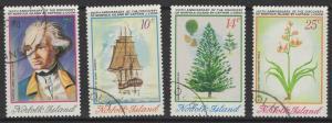 NORFOLK ISLAND SG152/5 1974 CAPTAIN COOK FINE USED