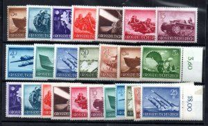 German 1944 Armed Forces mint MH collection WS20783