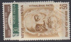 INDIA, Scott 590-592, MLH