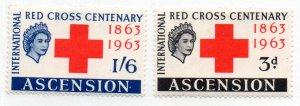 ASCENSION 90-1 MH SCV $6.75 BIN $3.40 RED CROSS