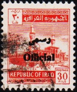 Iraq. 1972 30f (Official) S.G.O1045 Fine Used
