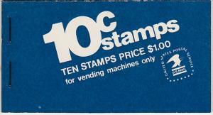U.S. Scott #1510b BK124 Jefferson Memorial Stamp - Mint NH Booklet