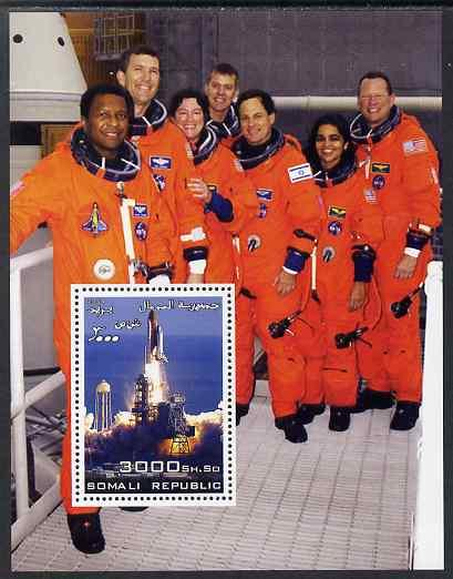 Somalia 2003 Space Shuttle #3 perf m/sheet unmounted mint
