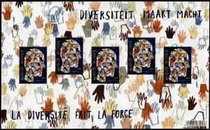 HERRICKSTAMP NEW ISSUES BELGIUM Diversity Large Size S/S