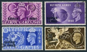 Bahrain 64-67,used.Michel 62-65. Olympics Wembley-1948.Globe,Torch.