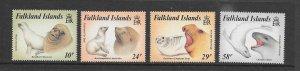 FALKLAND ISLANDS #161-4  SEALS  MNH