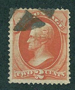 178  Used,  2c. Jackson, scv: $15