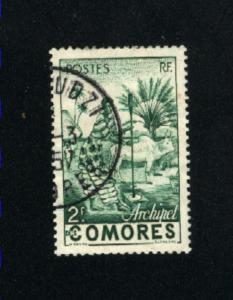 Comoro Islands #333  used  PD