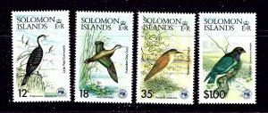 Solomon Is 535-38 MNH 1984 Birds