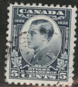 CANADA Scott 193 used 1932 5c Prince Edward stamp CV$3