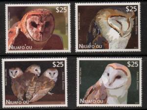 NIUAFO'OU SGE1 2012 OWLS MNH
