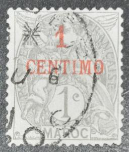 DYNAMITE Stamps: French Morocco Scott #11 – USED