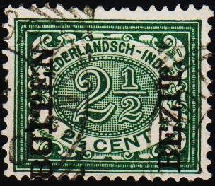 Netherland Indies.1908 2 1/2c S.G.163 Fine Used