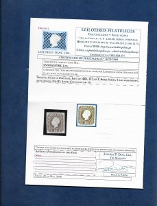 PORTUGAL 1862 5reis Afinsa no.14 mint with cert