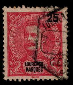 Lourenco Marques  Scott 37 King Carlos Used stamp