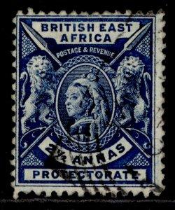 BRITISH EAST AFRICA QV SG68, 2½a deep blue, FINE USED.
