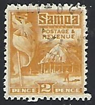 Samoa #145 Used Single Stamp (U1)