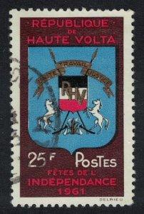 Upper Volta Independence Festival 1961 Canc SG#94