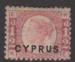 Cyprus Sc#1 MH Plate 12