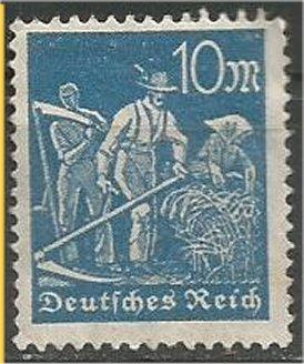GERMANY, 1922, MH 10m, Farmers Scott 222