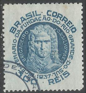 BRAZIL 450 VFU 1066A-6