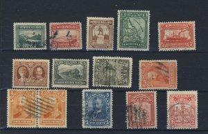 14x Newfoundland Stamps #78-81x2-85-86-88-131-132-133-145-146-147-149 GV= $32.00