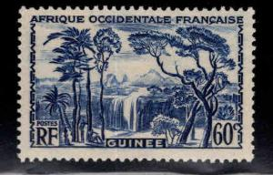 FRENCH GUINEA Scott 142 MH* stamp