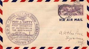 United States, Airmail, Event, Iowa