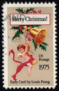 US #1580 Christmas Card by Louis Prang; Used (0.25)