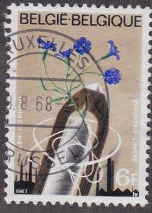 Belgium # 690, Linen Industry, Used
