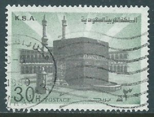 Saudi Arabia, Sc #696, 30h Used